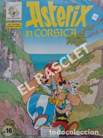 ASTERIX IN CORSICA - NUMERO A.16 - EDICIONES DEL PRADO (Tebeos y Comics - Grijalbo - Asterix)