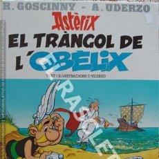 Cómics: ASTERIX - EL TRANGOL DE L' OBELIX - EDITADO EN CATALAN - EDICIONES JUNIOR. Lote 241071420