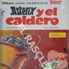 Cómics: ASTERIX Y EL CALDERO -EDITORIAL BRUGUERA. Lote 241072775
