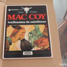 Cómics: MAC COY Nº 7, TRAFICANTES DE CABELLERAS, TAPA DURA, EDITORIAL GRIJALBO. Lote 241426305