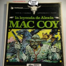Cómics: MAC COY Nº 1, LA LEYENDA DE ALEXIS, ED. GRIJALBO AÑO 1978, OFERTA!!. Lote 241714395