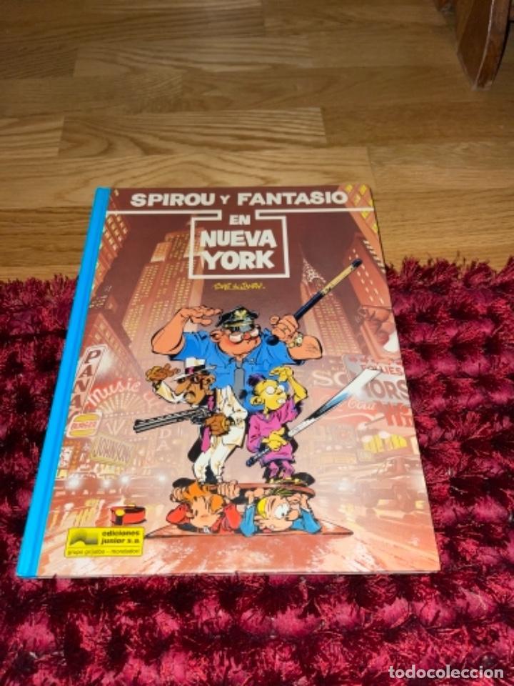 SPIROU Y FANTASIO Nº 25 EN NUEVA YORK. GRIJALBO 1991. DIFÍCIL!!!! NUEVO (Tebeos y Comics - Grijalbo - Spirou)