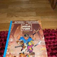 Cómics: SPIROU Y FANTASIO Nº 25 EN NUEVA YORK. GRIJALBO 1991. DIFÍCIL!!!! NUEVO. Lote 241791540