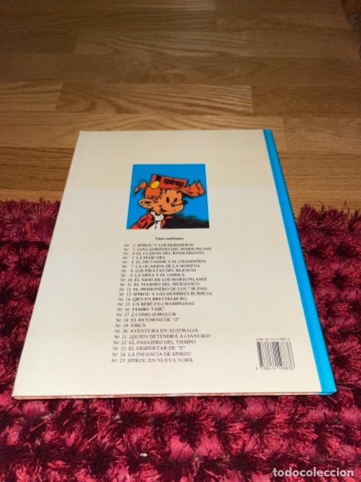 Cómics: SPIROU Y FANTASIO Nº 25 EN NUEVA YORK. GRIJALBO 1991. DIFÍCIL!!!! NUEVO - Foto 2 - 241791540