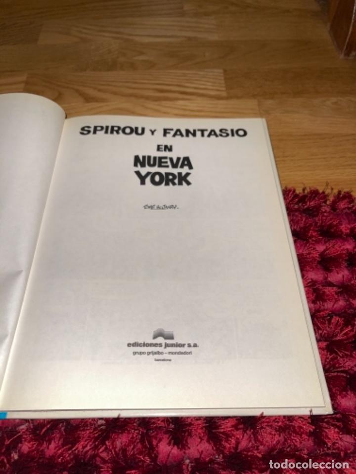 Cómics: SPIROU Y FANTASIO Nº 25 EN NUEVA YORK. GRIJALBO 1991. DIFÍCIL!!!! NUEVO - Foto 7 - 241791540