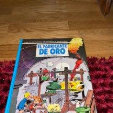Cómics: LAS AVENTURAS DE SPIROU Y FANTASIO: EL FABRICANTE DE ORO (JUNIOR/GRIJALBO 1993) POR FOURNIER PERFECT. Lote 241791830