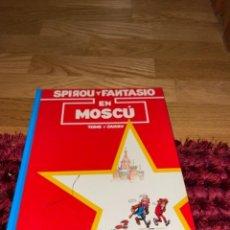 Cómics: SPIROU Y FANTASIO EN MOSCÚ, 1992, MUY BUEN ESTADO. Lote 241792350
