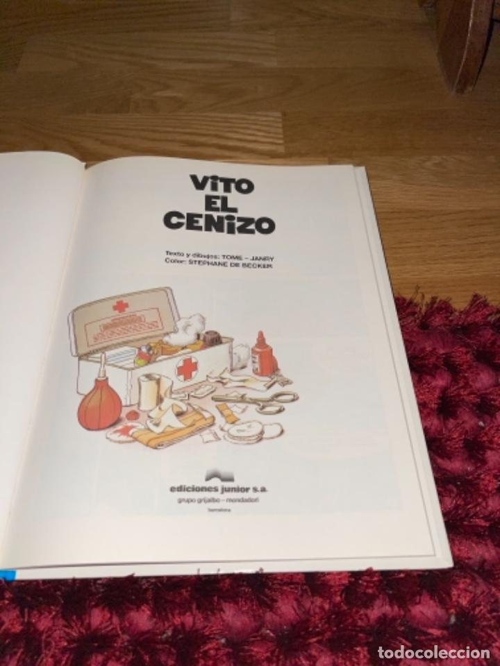 Cómics: LAS AVENTURAS DE SPIROU Y FANTASIO. Nº 29. VITO EL CENIZO . TOME Y JANRY. GRIJALBO PERFECTO - Foto 2 - 241792630
