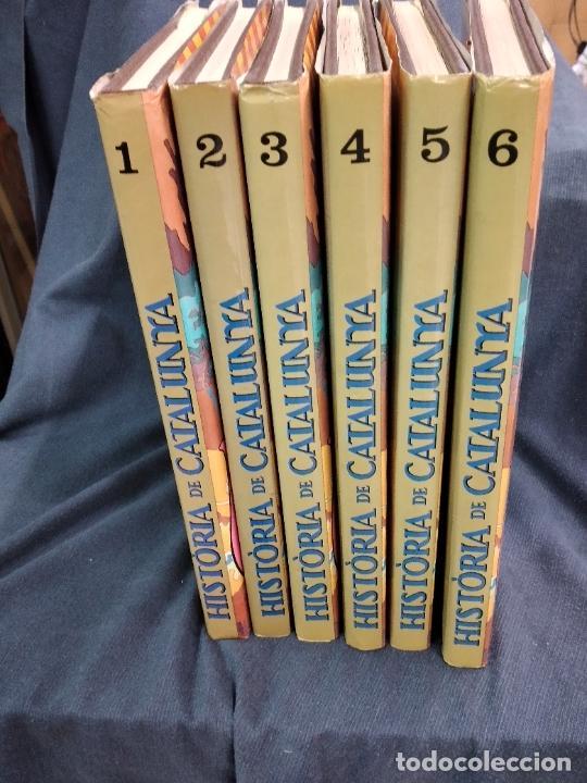 HISTORIA DE CATALUNYA. 6 VOLUMS. EMES A TV3. EDICIONES JUNIOR 1988. (Tebeos y Comics - Grijalbo - Otros)