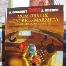 Fumetti: COM OBÈLIX VA CAURE A LA MARMITA DEL DRUIDA QUAN ERA PETIT. ASTÈRIX. UDERZO GOSCINNY. SALVAT CÓMIC. Lote 242288945