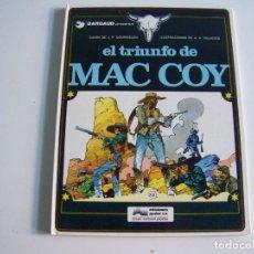 Cómics: JUNIOR GRIJALBO MAC COY 4 EL TRIUNFO DE ALEXIS MAC COY. Lote 242463780