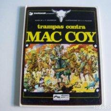 Cómics: JUNIOR GRIJALBO MAC COY 3 TRAMPAS CONTRA MAC COY. Lote 242464070
