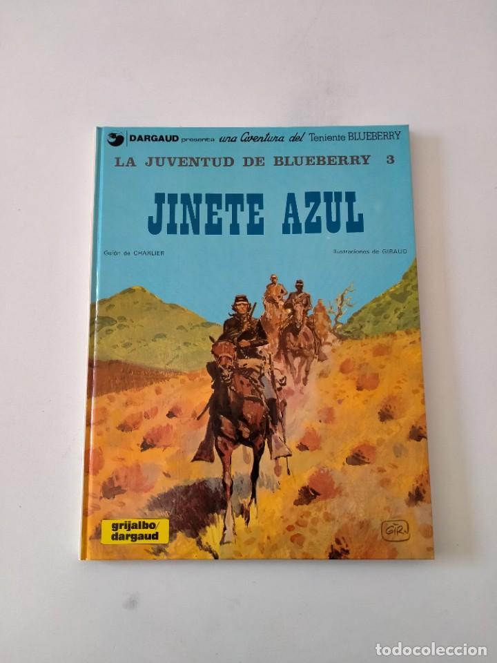 EL TENIENTE BLUEBERRY NÚMERO 14 EL JINETE AZUL GRIJALBO-DARGAUD 1981 (Tebeos y Comics - Grijalbo - Blueberry)