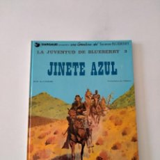 Cómics: EL TENIENTE BLUEBERRY NÚMERO 14 EL JINETE AZUL GRIJALBO-DARGAUD 1981. Lote 242472425