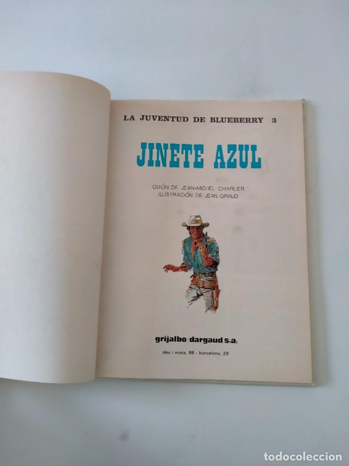 Cómics: El Teniente Blueberry número 14 El Jinete Azul Grijalbo-Dargaud 1981 - Foto 5 - 242472425
