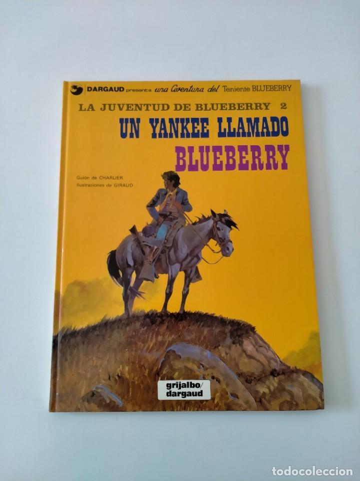 EL TENIENTE BLUEBERRY NÚMERO 13 UN YANKEE LLAMADO BLUEBERRY GRIJALBO-DARGAUD 1981 (Tebeos y Comics - Grijalbo - Blueberry)
