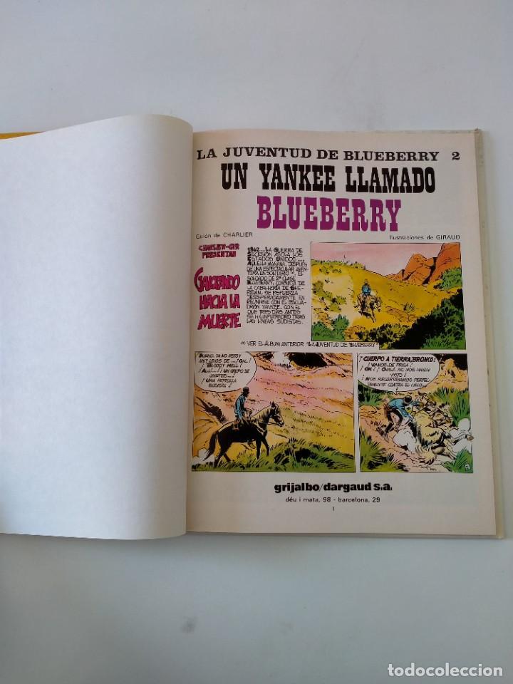 Cómics: El Teniente Blueberry número 13 Un Yankee Llamado Blueberry Grijalbo-Dargaud 1981 - Foto 5 - 242475265