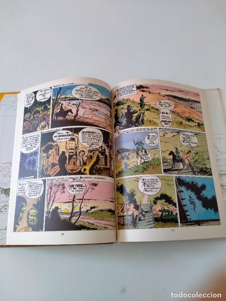 Cómics: El Teniente Blueberry número 13 Un Yankee Llamado Blueberry Grijalbo-Dargaud 1981 - Foto 6 - 242475265