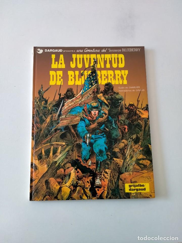 EL TENIENTE BLUEBERRY NÚMERO 12 LA JUVENTUD DE BLUEBERRY GRIJALBO-DARGAUD 1980 (Tebeos y Comics - Grijalbo - Blueberry)
