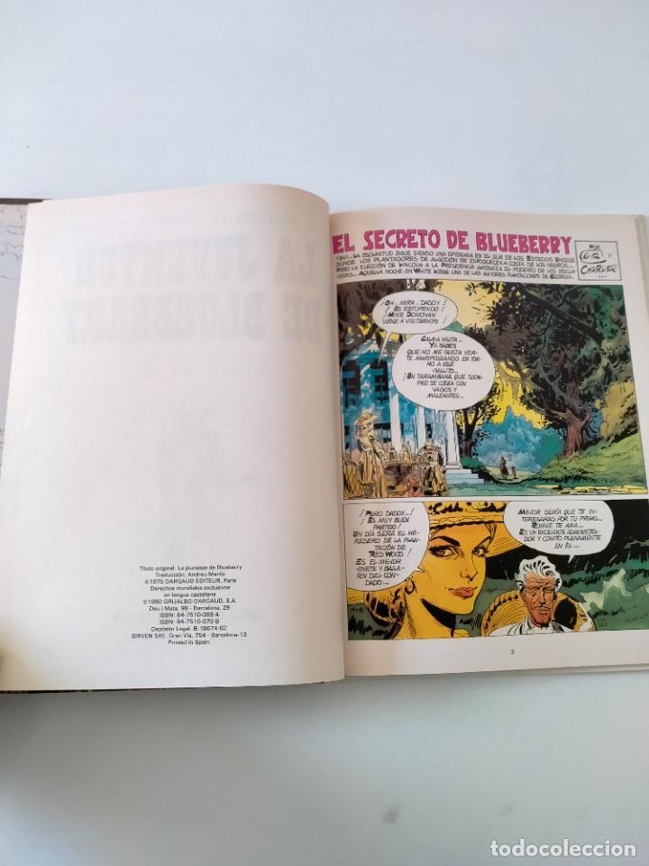 Cómics: El Teniente Blueberry número 12 La Juventud de Blueberry Grijalbo-Dargaud 1980 - Foto 4 - 242481335