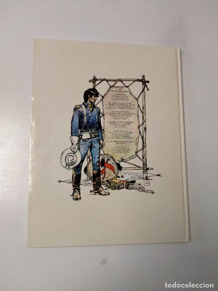 Cómics: El Teniente Blueberry número 4 El Hombre del Puño de Acero Grijalbo-Dargaud 1978 - Foto 2 - 242851120