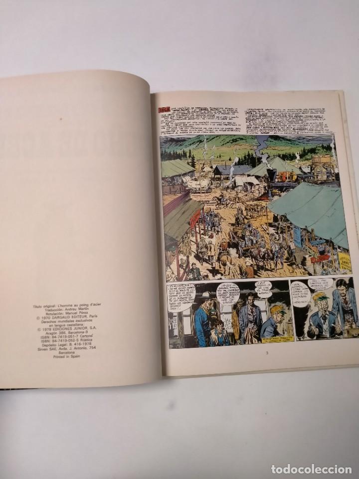 Cómics: El Teniente Blueberry número 4 El Hombre del Puño de Acero Grijalbo-Dargaud 1978 - Foto 4 - 242851120