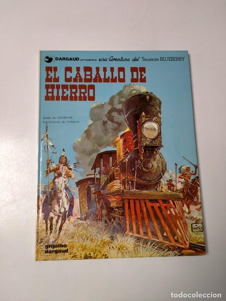 EL TENIENTE BLUEBERRY NÚMERO 3 EL CABALLO DE HIERRO GRIJALBO-DARGAUD 1980 (Tebeos y Comics - Grijalbo - Blueberry)