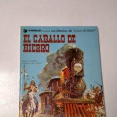 Cómics: EL TENIENTE BLUEBERRY NÚMERO 3 EL CABALLO DE HIERRO GRIJALBO-DARGAUD 1980. Lote 242858965
