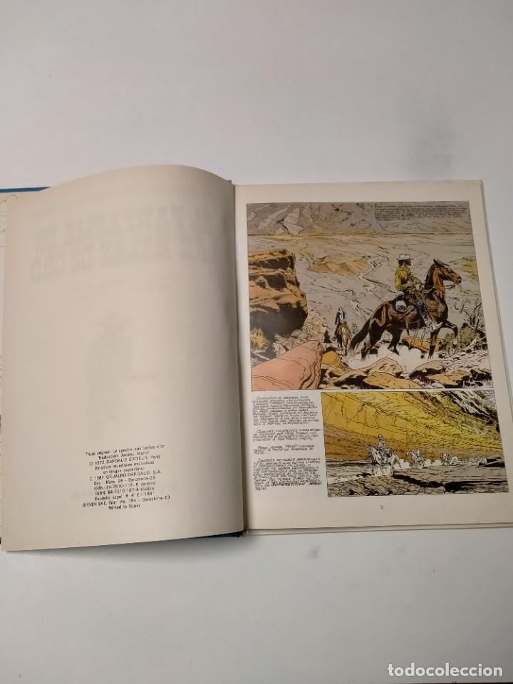 Cómics: El Teniente Blueberry número 2 El Fantasma de las Balas de Oro Grijalbo-Dargaud 1981 - Foto 4 - 242861325