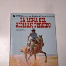 Cómics: EL TENIENTE BLUEBERRY NÚMERO 1 LA MINA DEL ALEMÁN PERDIDO GRIJALBO-DARGAUD 1981. Lote 242871600