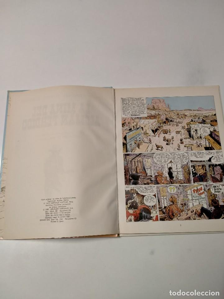 Cómics: El Teniente Blueberry número 1 La Mina del Alemán Perdido Grijalbo-Dargaud 1981 - Foto 4 - 242871600