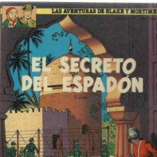 Comics : LAS AVENTURAS DE BLAKE Y MORTIMER 10: EL SECRETO DEL ESPADÓN, 1987, GRIJALBO, BUEN ESTADO. Lote 242983195