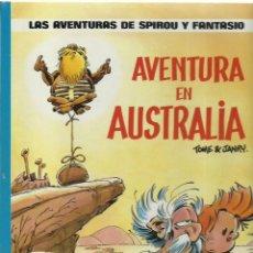 Comics: LAS AVENTURAS DE SPIROU Y FANTASIO 20: AVENTURA EN AUSTRALIA, 1989, JUNIOR, MUY BUEN ESTADO. Lote 242983765