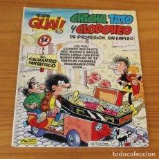 Cómics: TOPE GUAI 7 CHICHA TATO Y CLODOVEO DE PROFESION SIN EMPLEO, EL CACHARRO FANTASTICO. IBAÑEZ JUNIOR GR. Lote 243114405