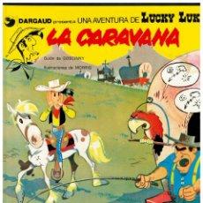 Cómics: LUCKY LUKE 12 - LA CARAVANA - EDICIONES JUNIOR / GRIJALBO 1979. PERFECTO.. Lote 243445715