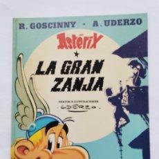 Cómics: ASTÉRIX LA GRAN ZANJA EDICIONES JUNIOR 1980. Lote 243462415