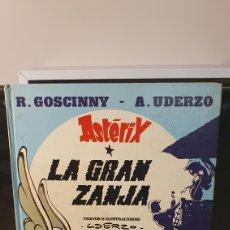 Cómics: ASTÉRIX/ LA GRAN ZANJA/ EDICIONES JUNIOR/ GRUPO EDITORIAL GRIJALBO 1982/ (REF.2.A). Lote 243476640