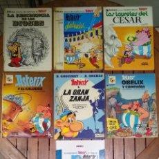 Cómics: LOTE 7 CÓMICS DE ASTERIX - VARIAS EDICIONES. Lote 243499840