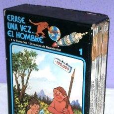 Cómics: ERASE UNA VEZ EL HOMBRE 13T / ALBERT BARILLÉ Y JEAN BARBAUD / ED. JUNIOR GRIJALBO EN BARCELONA 1987. Lote 243684405