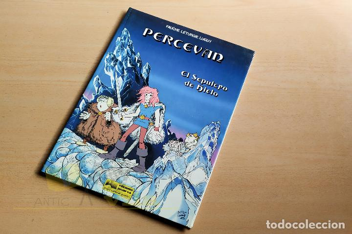 Cómics: Percevan - El sepulcro de hielo - 1985 - Foto 2 - 243774450