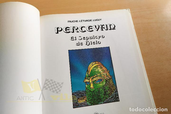 Cómics: Percevan - El sepulcro de hielo - 1985 - Foto 3 - 243774450