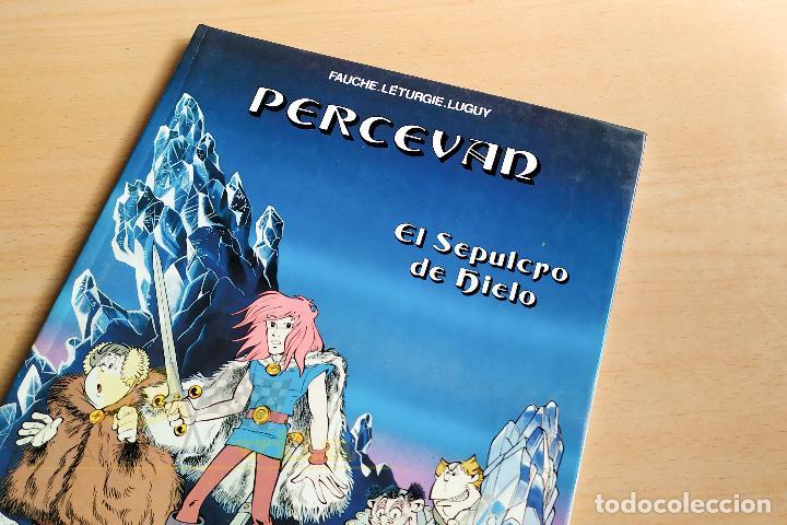 PERCEVAN - EL SEPULCRO DE HIELO - 1985 (Tebeos y Comics - Grijalbo - Percevan)