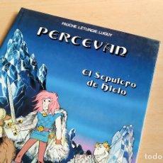 Cómics: PERCEVAN - EL SEPULCRO DE HIELO - 1985. Lote 243774450