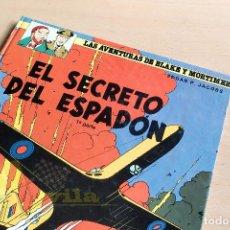 Cómics: LAS AVENTURAS DE BLAKE Y MORTIMER - Nº9 - EL SECRETO DEL ESPADÓN 1ª PARTE - 1987. Lote 243780030