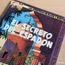 Cómics: LAS AVENTURAS DE BLAKE Y MORTIMER - Nº10 - EL SECRETO DEL ESPADÓN 2ª PARTE - 1987. Lote 243780170
