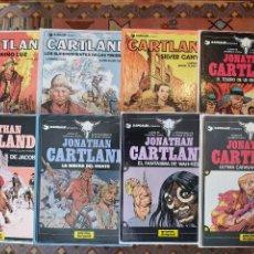 Comics: * JONATHAN CARTLAND * COMPLETA 8 TOMOS * ED. GRIJALBO / DARGAUD 1983 * CARTONE *. Lote 243832345