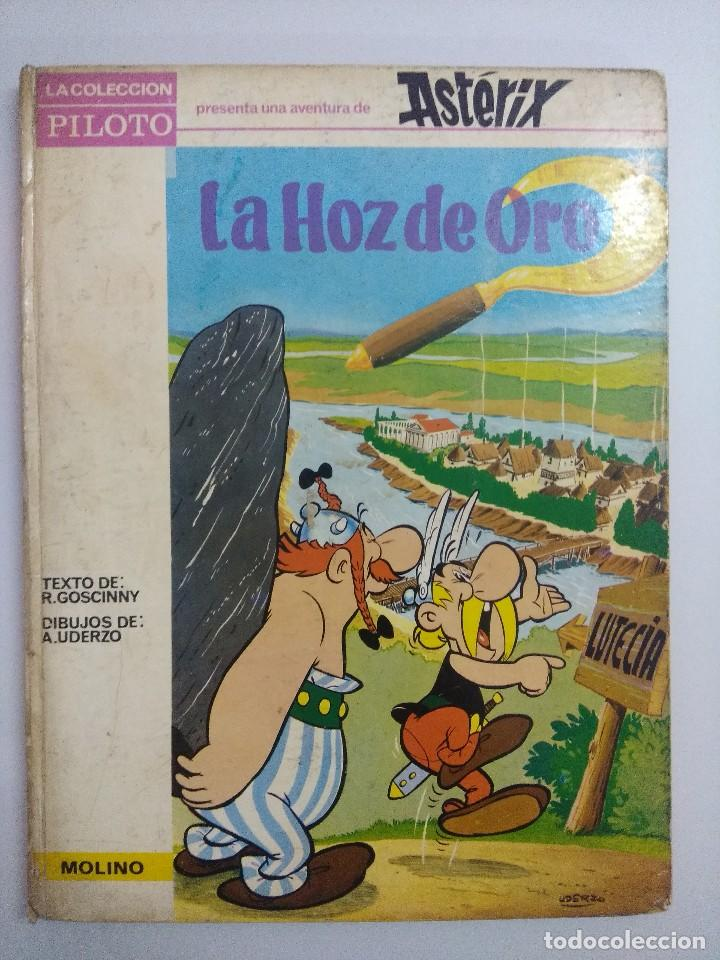 ASTERIX/LA HOZ DE ORO/COLECCION PILOTO MOLINO AÑOS 60. (Tebeos y Comics - Grijalbo - Asterix)
