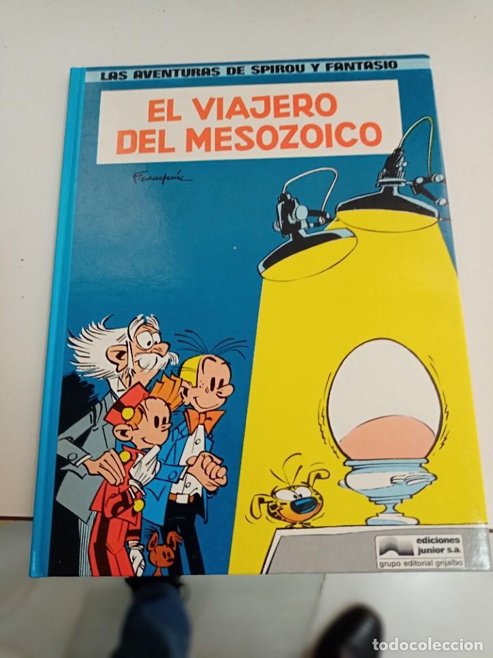 X SPIROU Y FANTASIO 11. EL VIAJERO DEL MESOZOICO (GRIJALBO) (Tebeos y Comics - Grijalbo - Spirou)