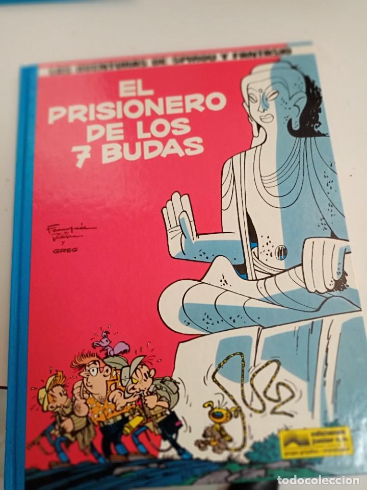 X SPIROU Y FANTASIO 12. ELPRISIONERO DE LOS 7 BUDAS (GRIJALBO) (Tebeos y Comics - Grijalbo - Spirou)