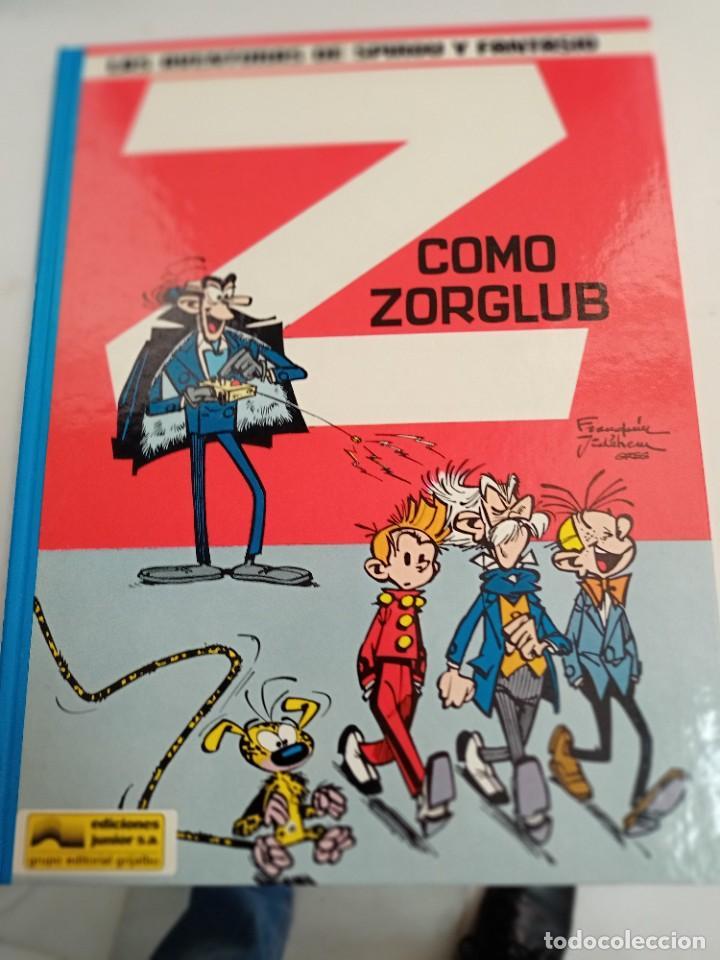 X SPIROU Y FANTASIO 17. Z COMO ZORGLUB (GRIJALBO) (Tebeos y Comics - Grijalbo - Spirou)